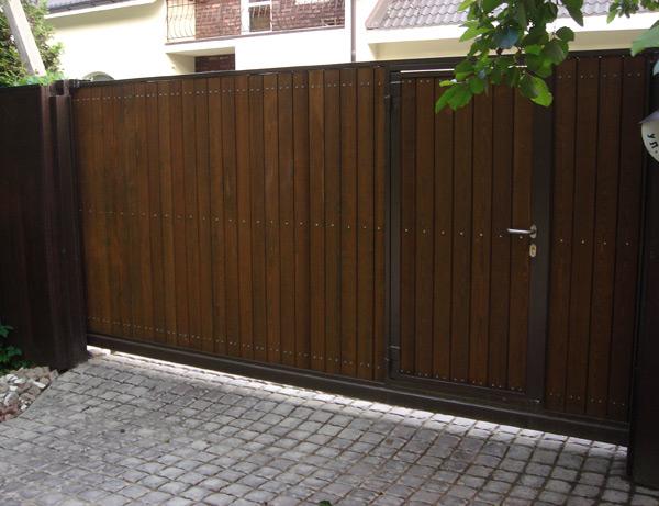 Ворота автоматические распашные в Дмитрове